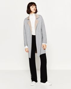 Image 1 of DOUBLE-SIDED COAT from Zara