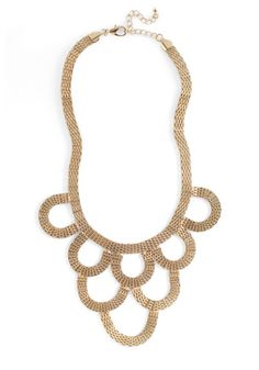 Tip the Scales Necklace, #ModCloth