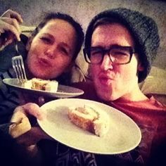 When they enjoyed a slice of cake so much, they decided to tell the whole world. | 22 Moments Tom And Giovanna Fletcher Restored Our Faith In True Love