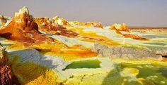 Даллол, Эфиопия  #travel #travelgidclub #путешествия #traveling #traveler #beautiful #instatravel #tourism #tourist #туризм #природа #Эфиопия #Даллол #невероятно