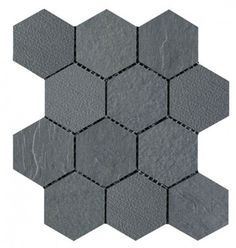 NC222829 Hexagonal Mosaic Tiles Brisbane (Rough finish)