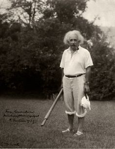 18 Photos Of Albert Einstein Being Super Chill.