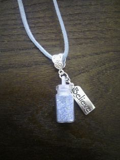 Henry Once Upon a Time Fairy Dust Necklace by CumberCorner on Etsy
