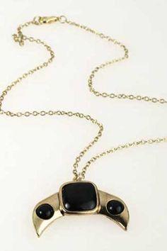 Black Diamond Necklace #Romwe