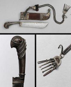 Pichangatti Knife Dated: 19th century Culture: Indian, Curg