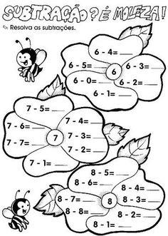 Kindergarten Math Worksheets, School Worksheets, Teaching Math, Play School Activities, Dyslexia Activities, Preschool Painting, Special Education Math, Niklas, Kids English