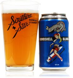 Blonde Bombshell Ale - Year Round Craft Beer - Southern Star Brewing Company - Conroe, TX
