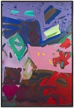Syd Solomon (Estate), Stroll 1976, Acrylic and aerosol enamel on canvas