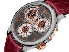 """F.P. Journe Centigraphe Souverain Anniversaire Watch - by Kenny Yeo - More on this beauty at: aBlogtoWatch.com """"The F.P. Journe Centigraphe Souverain Anniversaire is a limited edition version of one of the most interesting watches François-Paul Journe has ever designed. It is also a commemorative piece made to celebrate the 10th anniversary of the brand's boutiques around the world. It's not an overstatement to say that François-Paul Journe is one of the most successful..."""""""