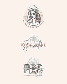 Need a logo refresh? Check out these ogo designs for Boss Babe Societe! I love how all of these logos tie in very well together. Designed by Kiki B Owner and Creative Director of Eyesavvy Design. Blog Design, Graphic Design Inspiration, Vector Logos, Lashes Logo, Stationery Design, Design Development, Identity Design, Boss Babe, Creative Director