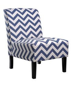 "Love this Blue Chevron Katherine Accent Chair on <a class=""pintag searchlink"" data-query=""%23zulily"" data-type=""hashtag"" href=""/search/?q=%23zulily&rs=hashtag"" rel=""nofollow"" title=""#zulily search Pinterest"">#zulily</a>! <a class=""pintag searchlink"" data-query=""%23zulilyfinds"" data-type=""hashtag"" href=""/search/?q=%23zulilyfinds&rs=hashtag"" rel=""nofollow"" title=""#zulilyfinds search Pinterest"">#zulilyfinds</a>"