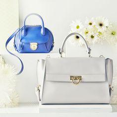 Carry a Salvatore Ferragamo handbag.