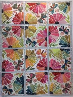 Garden Party Quilt Kit. This is gorgeous