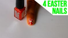 4 nail art designs to try out for the Easter holidays.