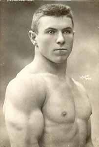 Boxer George Hackenschmidt, 1877-1968