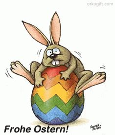 The Bunny Jumps – Easter GIF – Osterhase Osterhase Frohe Ostern – Entdecke Amp; Gif Animé, Animated Gif, Emoji Feliz, Happy Easter Gif, Easter Funny, Easter Ecards, Bunny Jump, Easter Bunny Pictures, Bunny Images