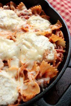 Skillet Lasagna @bigbearswife: Skillet Lasagna @bigbearswife