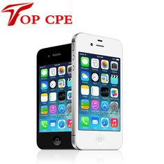 Original Factory Unlocked Apple Iphone 4S phone 8GB/16gb/32gb/64gb  3.5'' 8MP Camera Dual Core GSM WCDMA WIFI Used mobile phone //Price: $83.99 & FREE Shipping //     #hashtag3