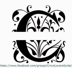 Split Regal Monogram How To Split Letters To Make Monogram Design - How to make vinyl monogram decals with cricut