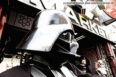 """His father. Caught on """"death-star-equipment-blowout""""."""