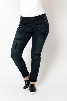 Heerlijke boyfriend loose fit jeans by MS mode. Ik wil niets anders meer! | MS mode | Fashion | Casual | Curvy womans!