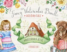 """Check out new work on my @Behance portfolio: """"Fancy Watercolors"""" http://be.net/gallery/47399095/Fancy-Watercolors"""