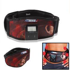 [$14.71] Electronic Body Building Waistbelt Dual Channel Fitness Belt Massage