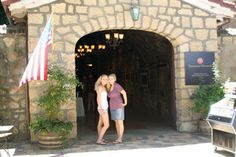 """Testarossa Vineyards  ~ This #Santa #Cruz winery has its tasting room in the historic Novitiate Winery originally built in 1888. You enter through a long narrow stone room known as the """"cave"""". Great wines!"""