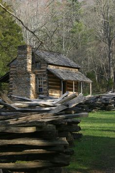 John Oliver Cabin, Cade's Cove, TN.  A glimpse into a simpler time.