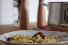 Der fertige Spitzkohleintopf. Ein Genuss im Sommer - besonders gut für Eintopffans die auch im Sommer nicht auf ihren Eintopf verzichten können!