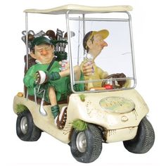 Come to Gifts & Collectables for a wonderful array of rare Guillermo Forchino Figurines including The Next Hole - Fast UK delivery and same day despatch