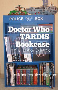 Doctor Who TARDIS Bookcase