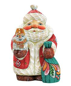Love this Santa Snowman Gift Expressions Ornament on #zulily! #zulilyfinds
