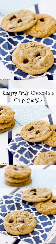 The absolute perfect chocolate chip cookie–chewy, chocolatey, and a few secrets tips that make this traditional chocolate chip cookie one of the best ones you've ever had! | www.alattefood.com