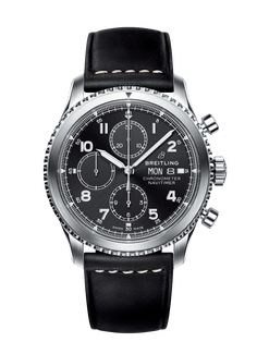 Breitling Watch Navitimer 8 Chronograph 43 Leather Tang Type Watch available to buy online from with free UK delivery. Breitling Navitimer, Breitling Superocean Heritage, Breitling Watches, Fine Watches, Cool Watches, Men's Watches, Fashion Watches, Men's Accessories, Luxury Watches For Men