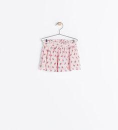 Zara baby 18-24 mois jupe imprimé, couleur pastel