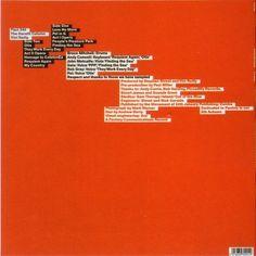 Fact 244 Vini Reilly; alternate abandoned 8vo artwork - back cover detail