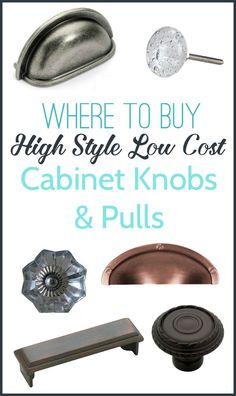 Cent Knobs Everything Is Under A Buck Good Website For Cheap - Cheap kitchen knobs and pulls