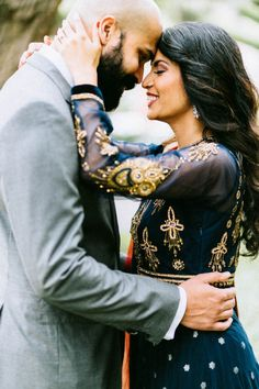 Indian Engagement Session in Florida | Image by Tina Bass Photography