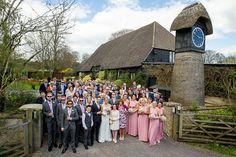 Amy & Rob's Clock Barn Wedding. Photo: Andrew Millard Photography