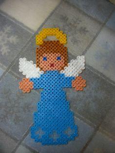 Christmas Angel hama perler beads by Nath Hour
