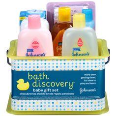 JOHNSON'S Bath Discovery Baby Gift Set