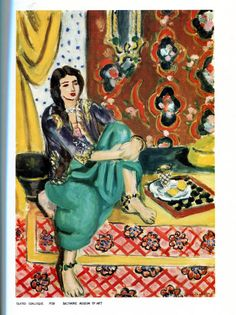 Henri Matisse Art for Children  Includes Short by scarlettess, $12.00