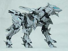 "I'm just gonna call the ""Blitz Wolf"". Robot Concept Art, Weapon Concept Art, Animal Robot, Zoids, Bicycle Sketch, Power Rangers, Arte Robot, Gundam Custom Build, Futuristic Art"