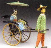 Lehmann wind-up tin toy 'Masuyama'.