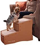 Pet Gear Easy Step II Pet Stairs, 2 Step for Cats/Dogs up to 150 Pounds, Portable, Removable Washable Carpet Tread Carpet Treads, Dog Stairs, Pet Ramp, Cat Steps, Pet Stroller, Pet Gear, Gear 2, Wood Dog, Large Dogs