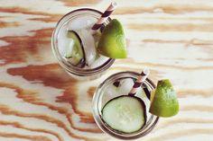 Cucumber Gimlet Recipe by A Beautiful Mess