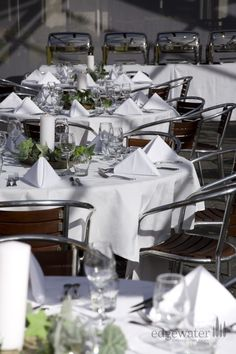 Gorgeous table decorations at our Wanaka wedding venue. http://www.edgewater.co.nz/resort/weddings/