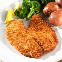 Baked Fish Fillet Recipe with Bread Crumb Topping