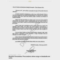 RN POLITICA EM DIA: RODOLFO FERNANDES: DENISE BORGES DEIXA PROCURADORI...